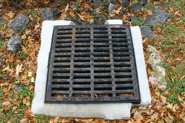 House Storm Water Drain